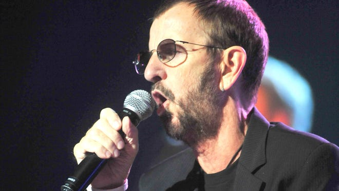 Ringo Starr and the All-Starr Band in Morristown in 2012.