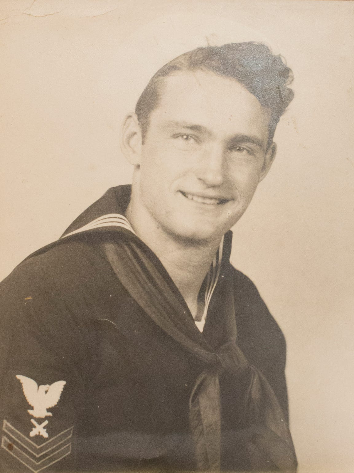 USSAZ- USS Arizona - Lonnie Cook, of Oklahoma, was