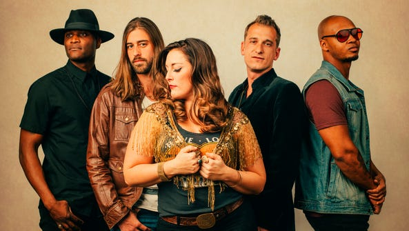 Asheville's soulful Americana band The Broadcast plays