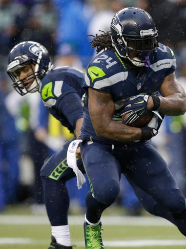 Will RB Marshawn Lynch carry the Seahawks back to postseason.