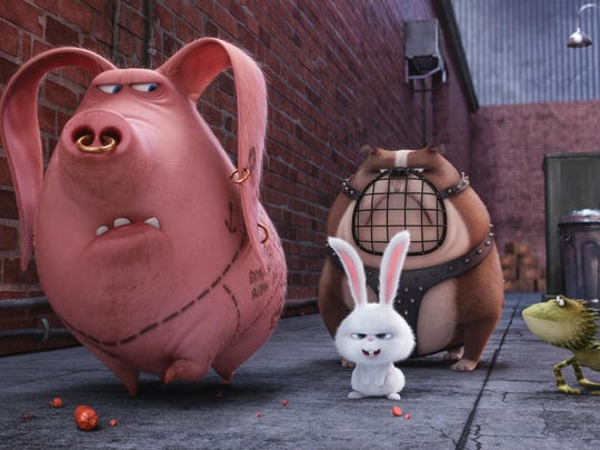 """The Secret Life of Pets"" opens Friday."