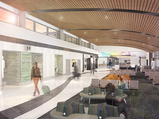 Renderings Of Nashville Airport S New D Concourse And