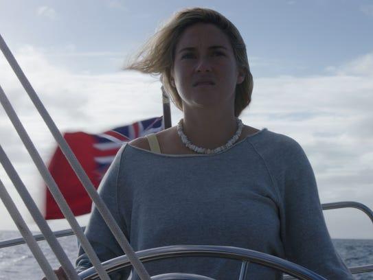 """Shailene Woodley got a feel for ocean life in """"Adrift."""""""