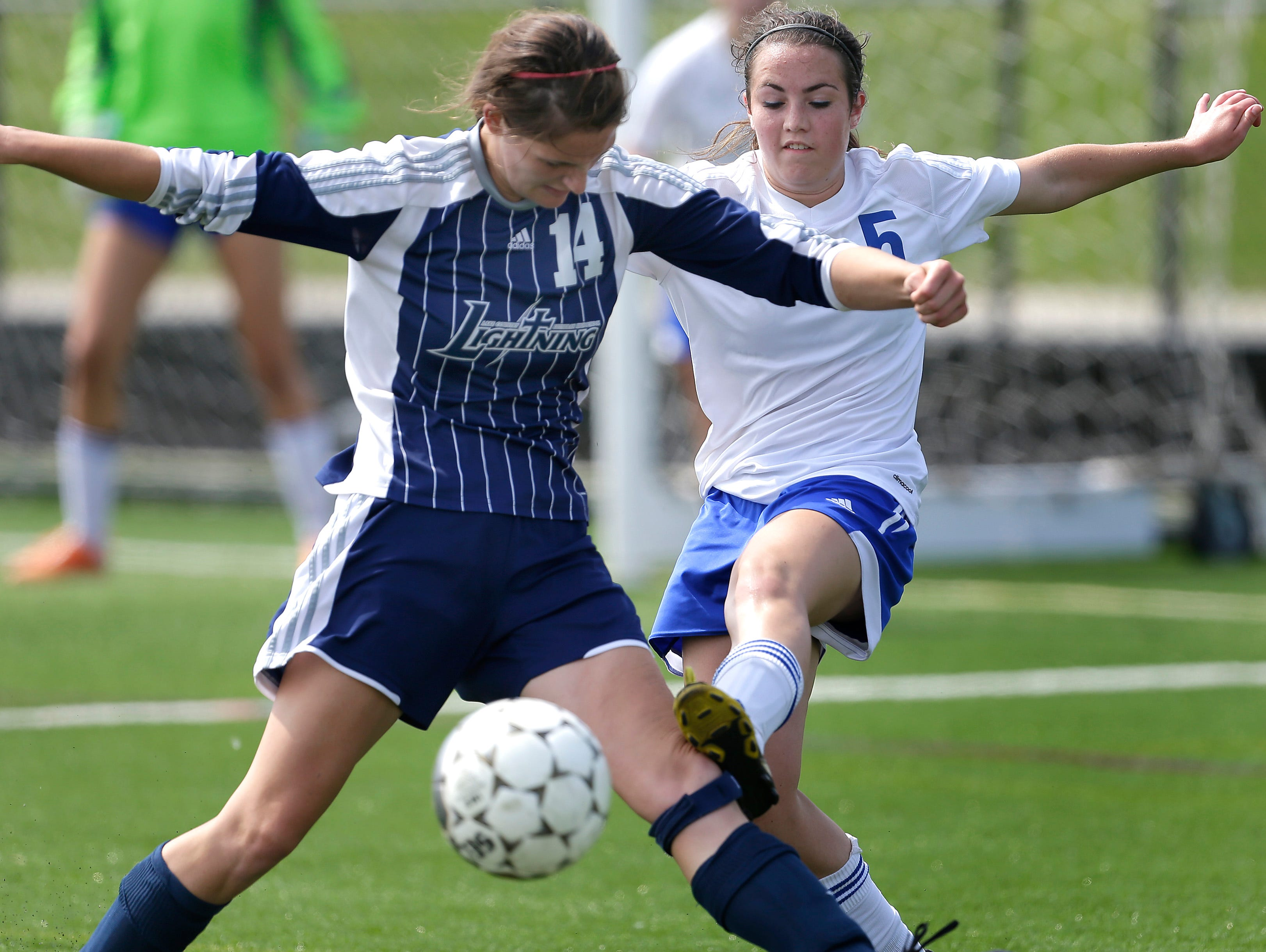 Assumption High School junior Jasmine Hunn is the Royals' top returning goal scorer for the defending D4 state champions.