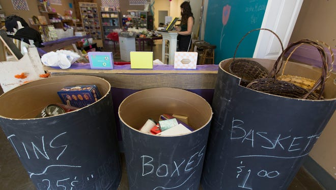 Who Gives a Scrap is a creative reuse shop. The store is donation-based and accepts art supplies, old jewelry, metal, wood and more.