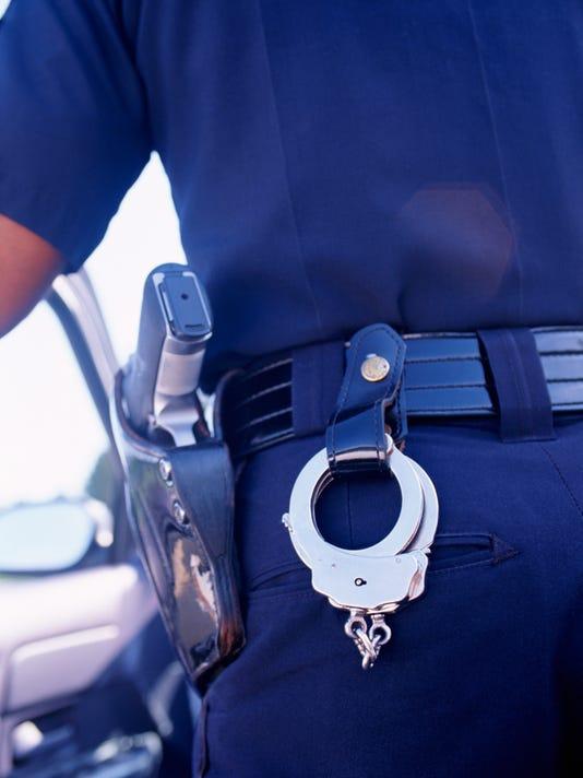 Stock handcuffs