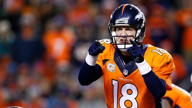 Denver Broncos quarterback Peyton Manning takes a losing record facing Tom Brady into Sunday's game vs. the New England Patriots.