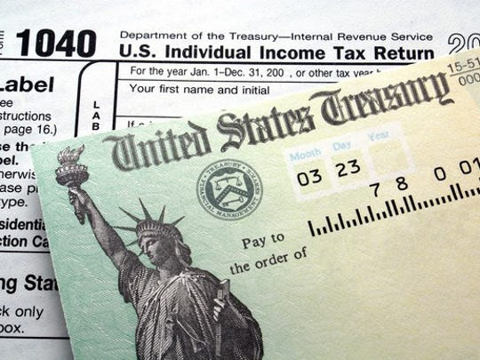 How big of a tax refund depends on a number of factors,