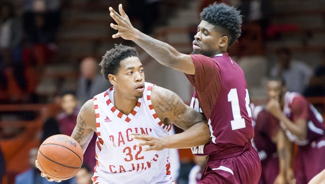 Bryce Washington (32) works during the Cajuns' win over Texas Southern earlier this season.