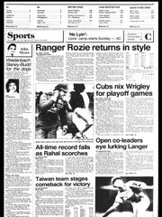 This Week in BC Sports History - Week of July 16, 1985