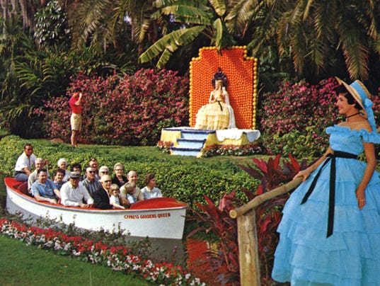 Florida Frontiers Cypress Gardens Was Florida 39 S First Theme Park