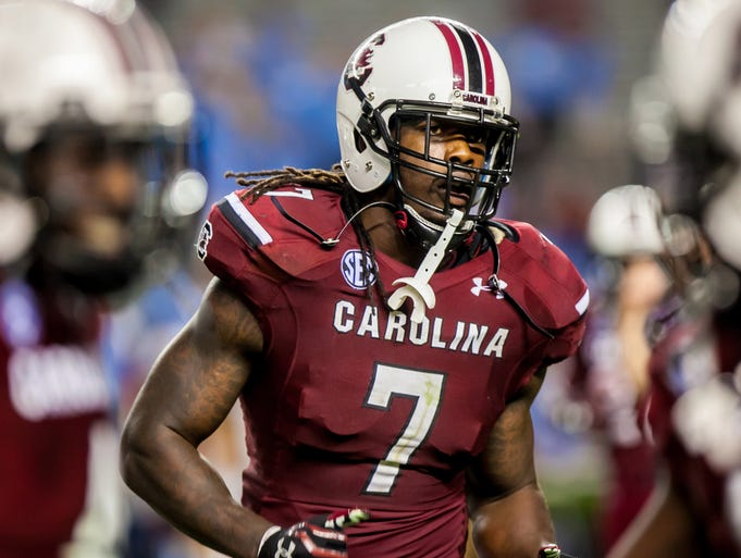 South Carolina (Jadeveon Clowney): Overhyped or out of shape? Maybe neither. Regardless, the performance by South Carolina's All-America defensive end and would-be Heisman candidate in the season opener was widely panned. Clowney finished with three tackles and three quarterback hurries against North Carolina, but cameras and critics seemed to focus on his apparent fatigue working against a hurry-up offense in hot, humid temperatures, and fans who'd anticipated more helmet-popping highlights were sorely disappointed. It's more than a little unfair – Clowney wreaked havoc on many plays, even when he wasn't creating Heisman moments or even stats. Sack Aaron Murray a couple of times, force Todd Gurley to fumble, and we'll forget about Week 1.