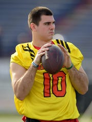 Chad Kelly attended Senior Bowl practices even though he couldn't play due to a knee injury. It allowed him to speak to coaches and personnel men from several teams.