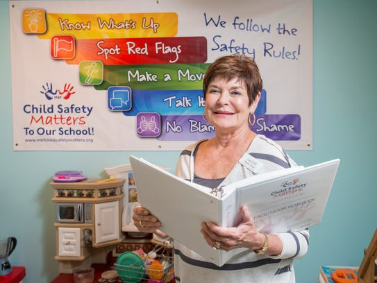 Paula Doty, prevention coordinator at Gulf Coast Kid's