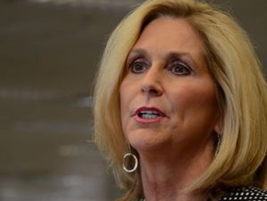 """State Treasurer Lynn Fitch said the gender pay disparity is not just about discrimination but also """"the subtle pushes we give girls to go into less lucrative careers."""""""