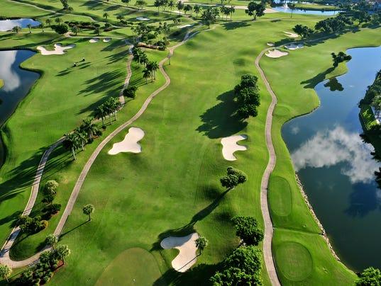 #stock Golf Course Florida Stock Photo