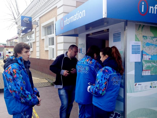 Sochi Olympics volunteers