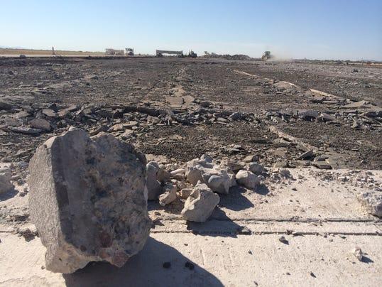 Phoenix Mesa Gateway Airport Strips Original 1941 Runway