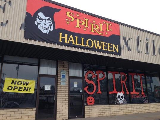 Seasonal Halloween stores open