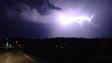Fountain Hills lighting, August 11, 2014.
