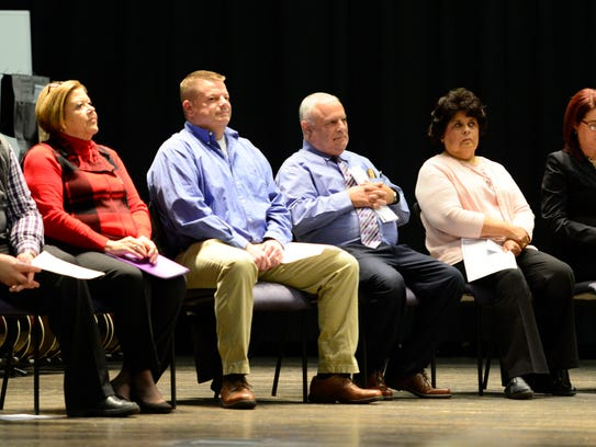 Participants in the NAACP Candidates Night included,