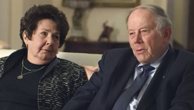 Judi and Jim Herbert, donors for the new Sparrow Herbert-Herman Cancer Center.