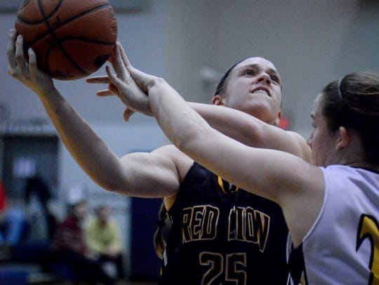 Courtney Dimoff scored 21 points for Red Lion on Thursday