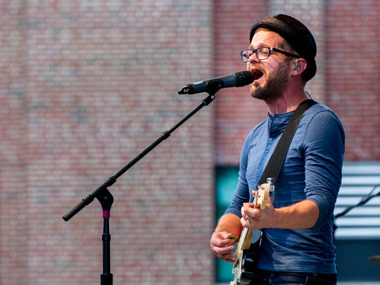 Indianapolis' own Josh Kaufman performed on the Indiana State Fair Free Stage, Aug. 7, 2014.