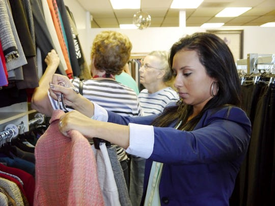 The YWCA's 2616 ladies bargain boutique helps support