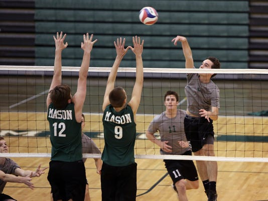 McNicholas at Mason Boys VB