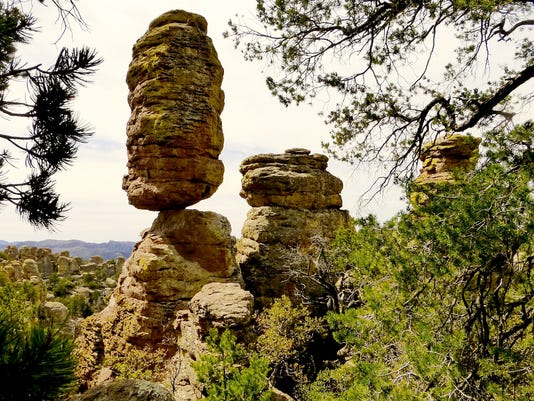 Roger Naylor's summer tips - Chiricahua National Monument