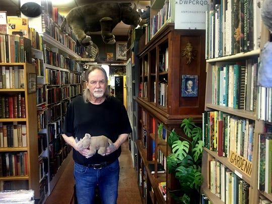 Fred Koller, owner of Rhino Books.