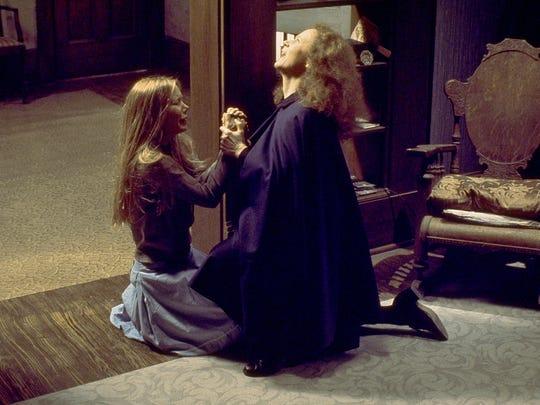 "Sissy Spacek and Piper Laurie in ""Carrie."""