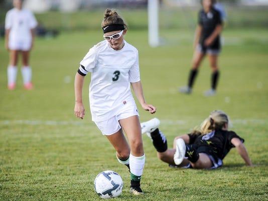 Girls' Soccer CMR v Billings West