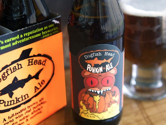 Dogfish Head will bring its Punkin Ale to the Shore