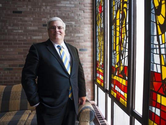University of Great Falls President Anthony Aretz