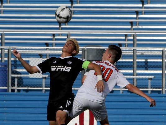 WFHS state soccer vs. Frisco Wakeland