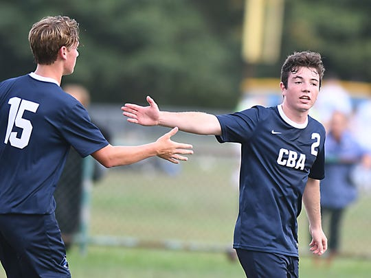 Boys Soccer: CBA at Freehold Twp on 9/18/2017