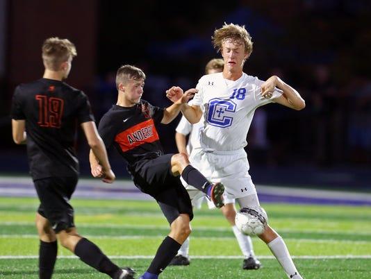 Anderson at Covington Catholic Boys Soccer