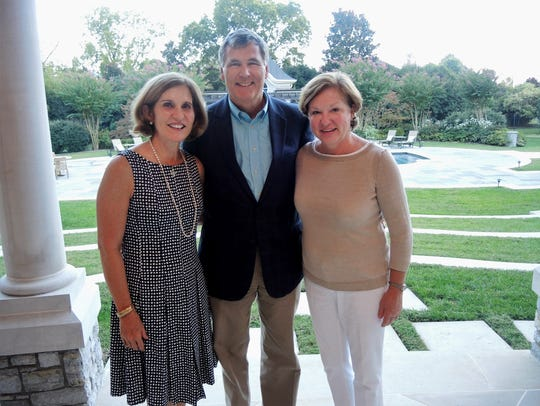 Sallie and Bill Norton, left, and Ann Buchanan at the