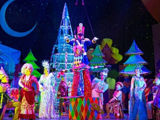 "The 10th anniversary tour of ""Cirque Dreams Holidaze"" visits the Grand Ole Opry House in Nashville Nov. 18-Dec. 27."
