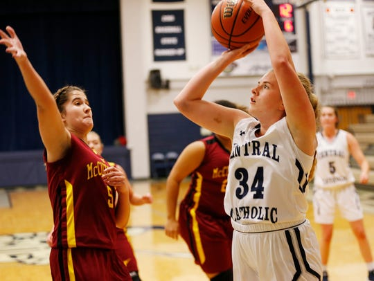Jen Mills' 10 points helped a 1-5 Central Catholic team stun McCutcheon in early December.