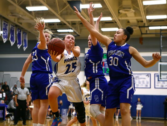 Oldham County at Simon Kenton Girls Basketball