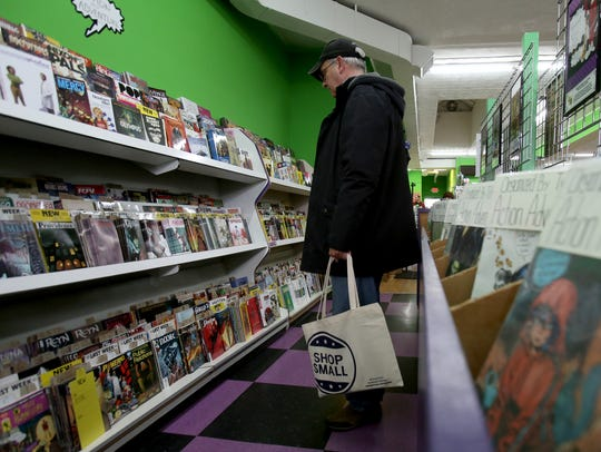Green Brain Comics in Dearborn is participating in