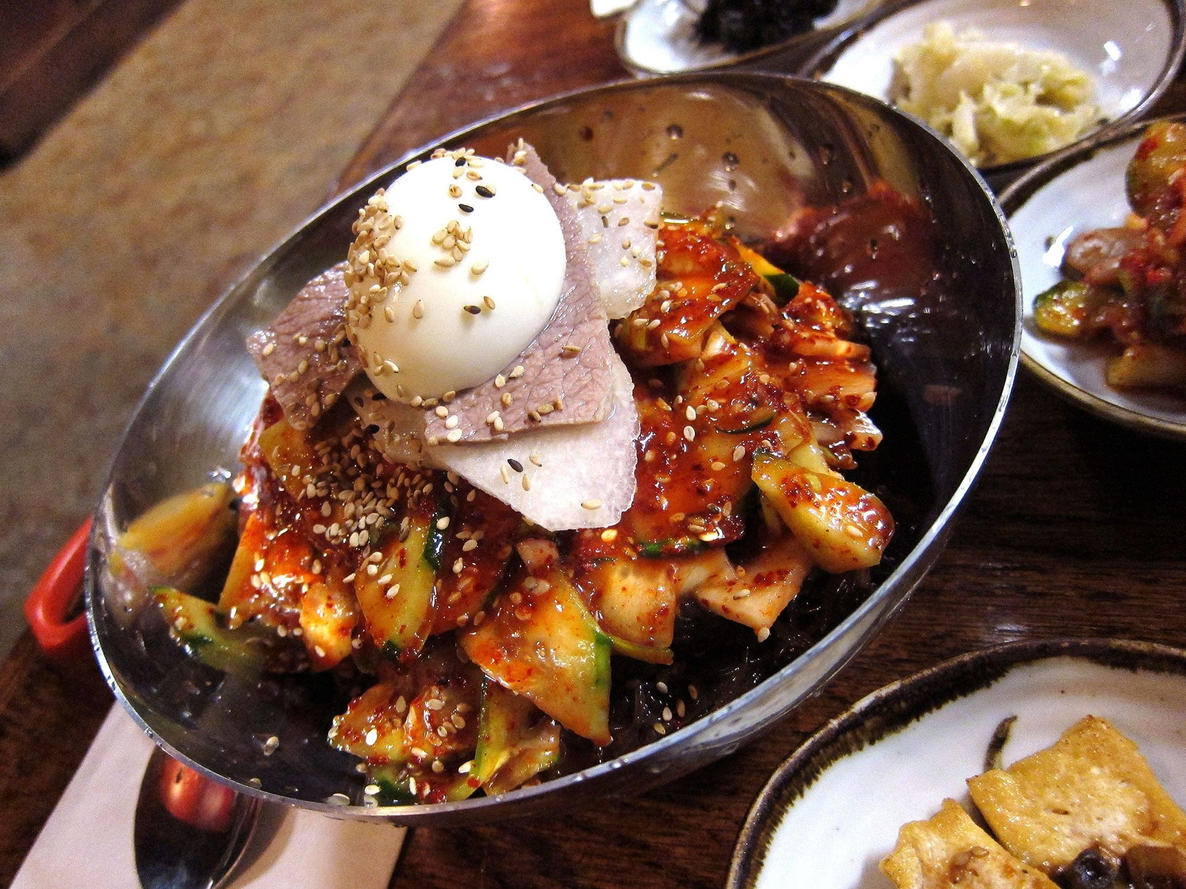 Open until 2 a.m. Tuesdays through Sundays, Cafe Ga Hyang has outstanding Korean fare.