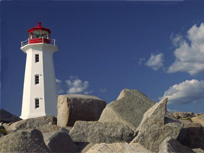 Peggys Cove Nova Scotia. Vacation In Nova Scotia traveled
