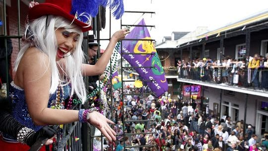 File photo of Mardi Gras
