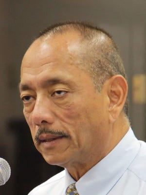Vice Speaker Benjamin Cruz, D-Piti