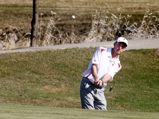 Arrowhead's Alex Yost tied for first place at the Lake Country Charities Invitational at Tuckaway Country Club in Franklin on Saturday.