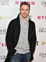 Five-time pro winner Derek Hough will be back after